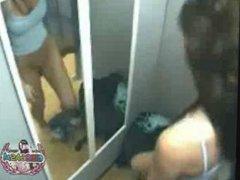 Teen Caught On Hidden Cam In Changing Room