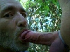Sucking Cock In The Woods