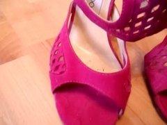 shoes wank heels schuhe cum