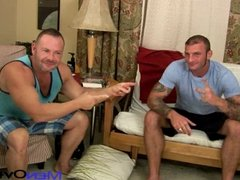 porn icons - Super HOT tattooed Ricky Sinz and Doug Jeffries