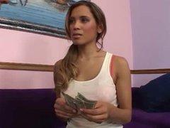 Bad Teen Renae Cruz Paid To Fuck by TROC