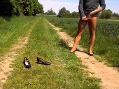 Heels Stockings Outdoor