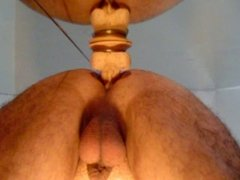 My asshole fucked by a dildo.