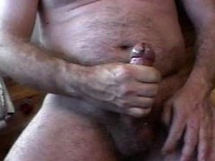 stroking to climax
