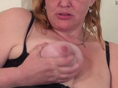 This mature slut loves to show her big ass and dirty mind