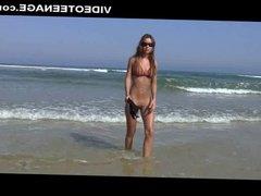 sexy teen nudist at beach