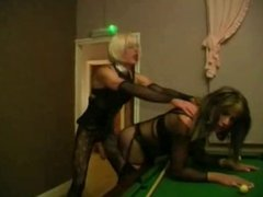 Zoe Fuckpuppet  sex on the pool table
