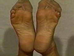 Sexy stocking soles