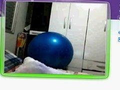 Sandra Xavier 30 anos na Webcam MSN