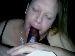 Playing with BBC Cum