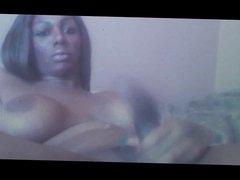 big black   hot tranny  cam