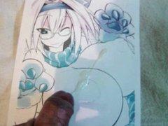 Anime Girl Bukkake 14