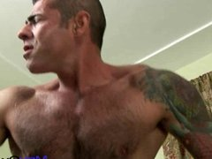 masculine and hairy - Nick Moretti and Tristan Jaxx