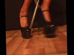 Pleasure on heels