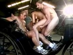 Teen hitchhikers carriage threesome mmf