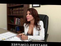 Brazzers - Big-tit Latina Aleska Nicole fucks her employee