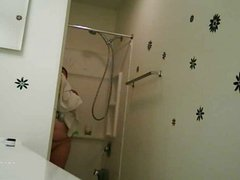 spying on wife in bathroom