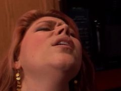 Chubby redhead with lovely big tits and a fat juicy pussy
