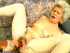 Grannies in the Middle of a Dildo