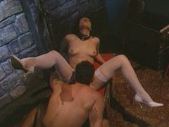 Claudia Adkins dungeon sex - part 1