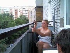 latika32  fun on the balcony
