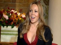 Mariah Interview Cleavage