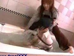 Asian Lesbian Water Bondage