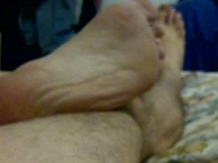 male feet soles