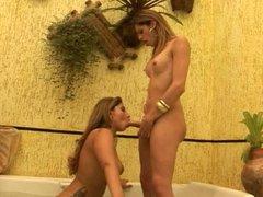 Tgirl & Girl