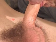 Gay dude gets a blowjob and a lick in the ass