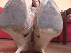 heels pov Lick My HIGH HEELS
