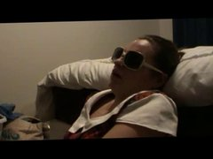 facial for kate wearing sunglasses