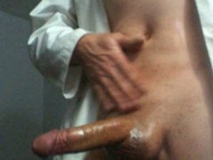 Big cock wacking off