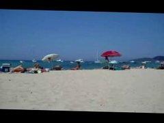 Manuela - Orgasmus am FKK Strand an der Ostsee