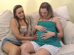 Pregnant Amateurs - Brianna & Renee