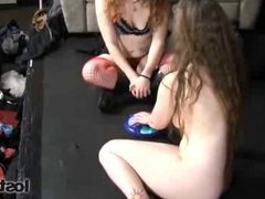 Strip Jester with Kat and Daisy