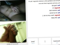 Omegle Girl Playing With Her Pussy
