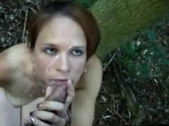 Sucking Dick And Getting Facial Out In Forrest