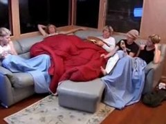 Twink orgy during pyjama party