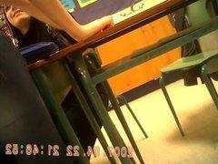 voyeur: teacher arabic class