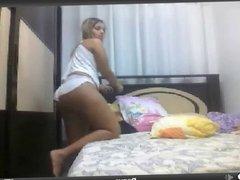 Dany blond on webcam