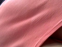Skirt in pink and white stripes