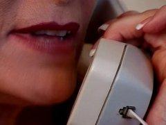 Hot Blonde Mature Cougar Bangs Male Escort