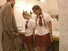 Naughty School Girls