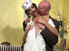 Hot latina in sexy nurse outfit fucked - 1 of 2