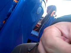 Penis Play on Bus (Public Masterbating)