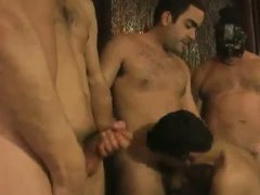 Bareback Orgy ....