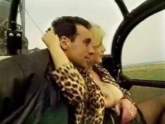 Milf With Big Tits With A Guy In Helicopter