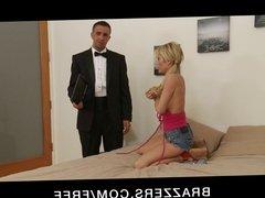 Brazzers - Slutty blonde Tasha Reign daydreams about sex