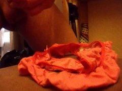 emptying a full load in little leona's panties